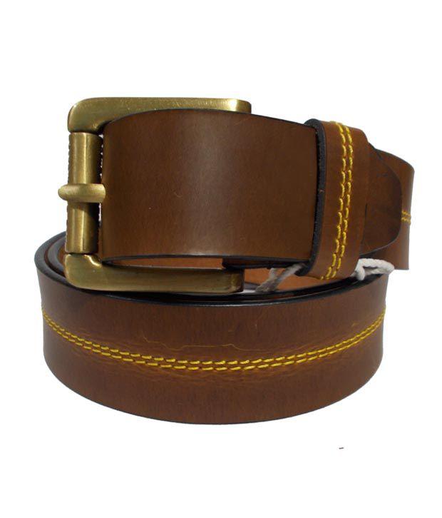 Elahi Tan Leather Belt For Men
