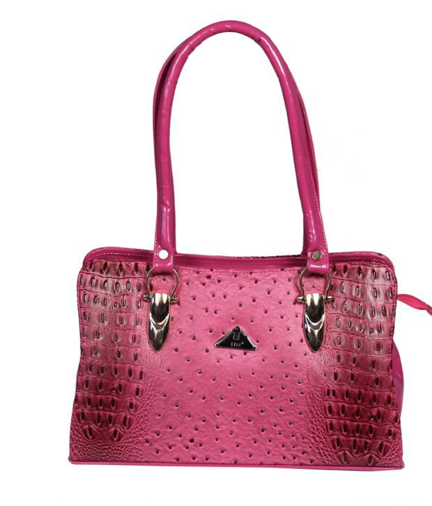 c0920d64725e Fl Rt Pink Partywear Synthetic Shoulder Bag Cum Handbag - Buy Fl Rt Pink  Partywear Synthetic Shoulder Bag Cum Handbag Online at Best Prices in India  on ...