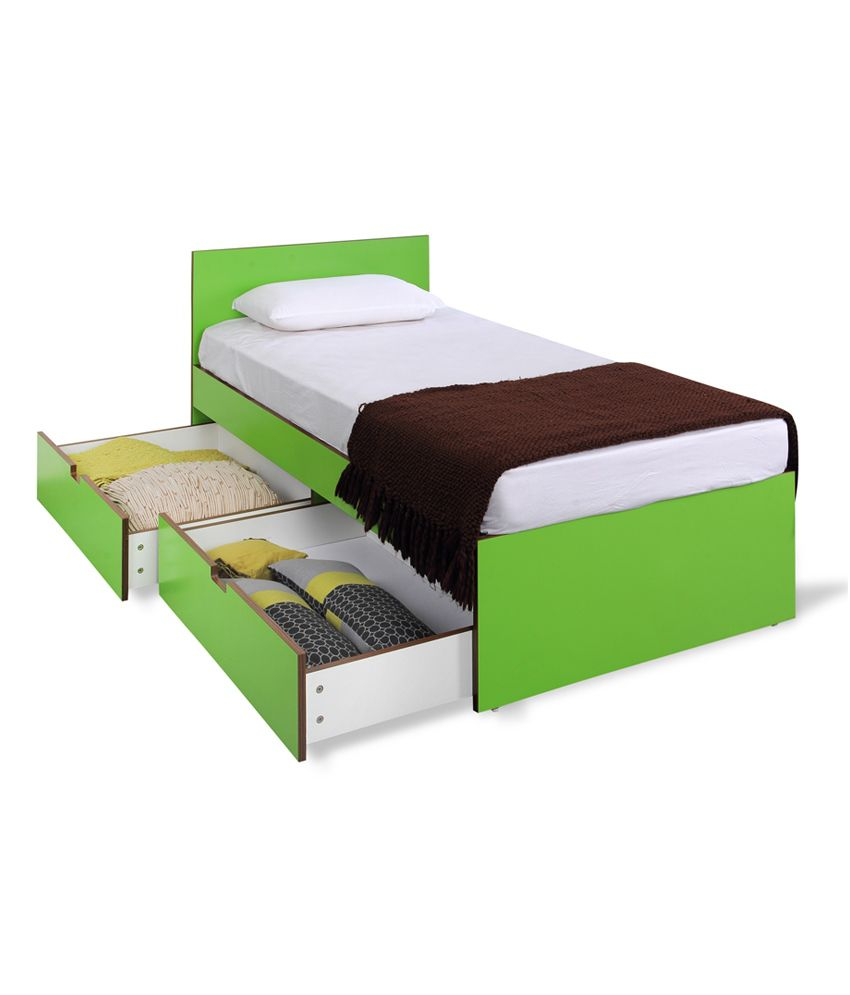 indian bedroom furniture catalogue%0A Forzza Shelly Single Storage Bed