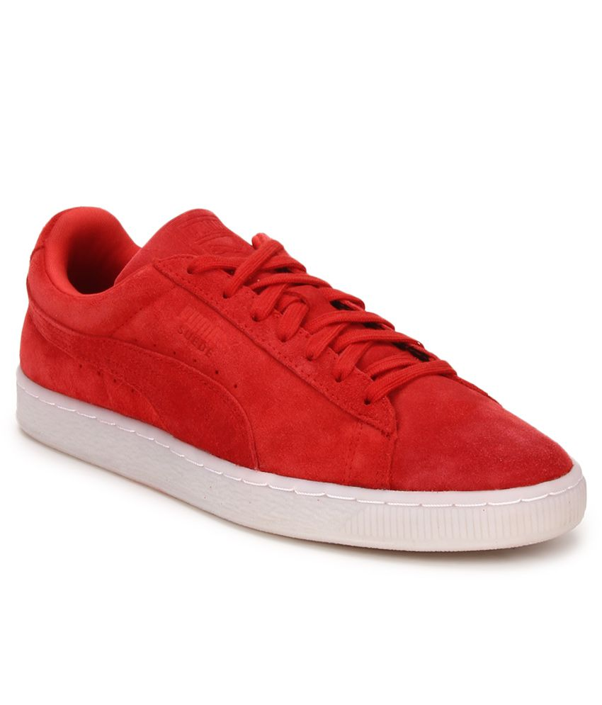 d15da4e81828 Puma Suede Classic Colored Red Lifestyle Casual Shoes - Buy Puma Suede  Classic Colored Red Lifestyle Casual Shoes Online at Best Prices in India  on Snapdeal