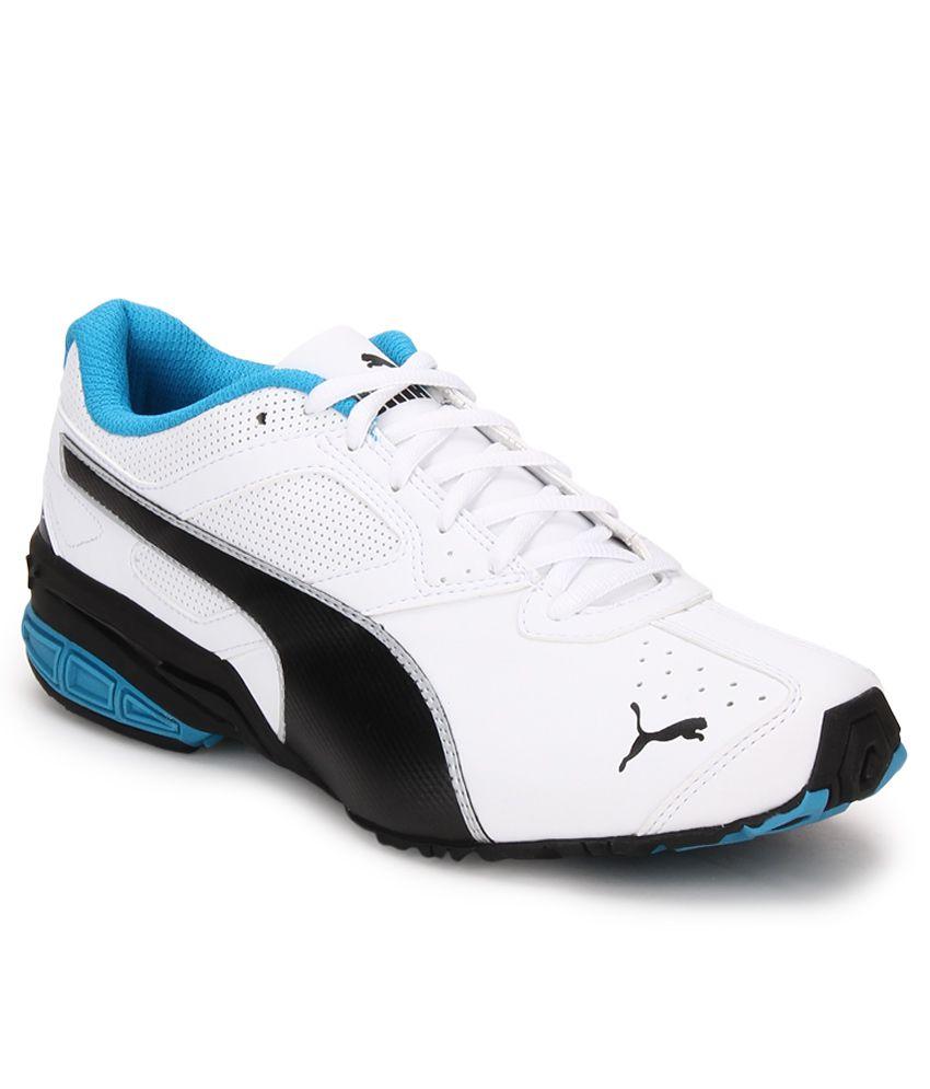 Puma Tazon 6 White Running Sports Shoes