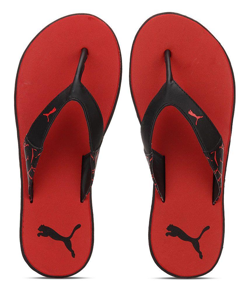 puma flip flops red Limit discounts 50