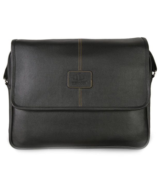 The Clownfish 14.5 inch Laptop and Tablet Bag - Macbook Pro, Macbook Air Laptop Bags (Black)