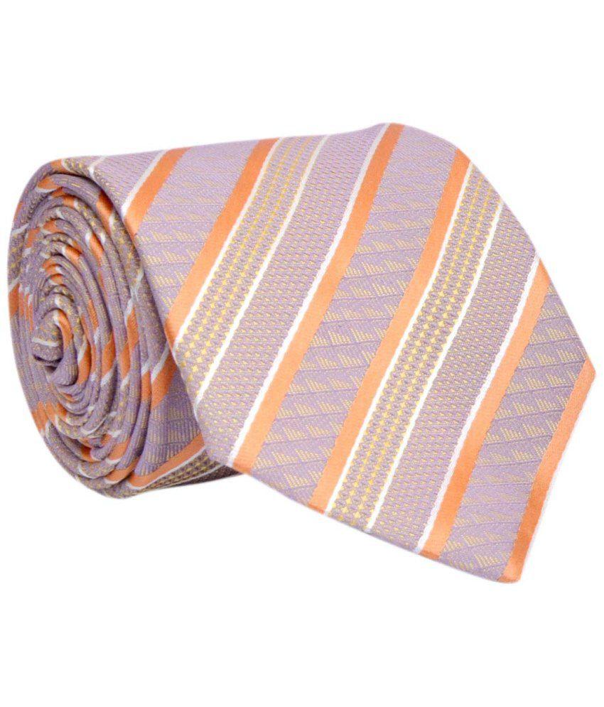 Bizarro.in Multicolour Micro Fiber Formal Necktie