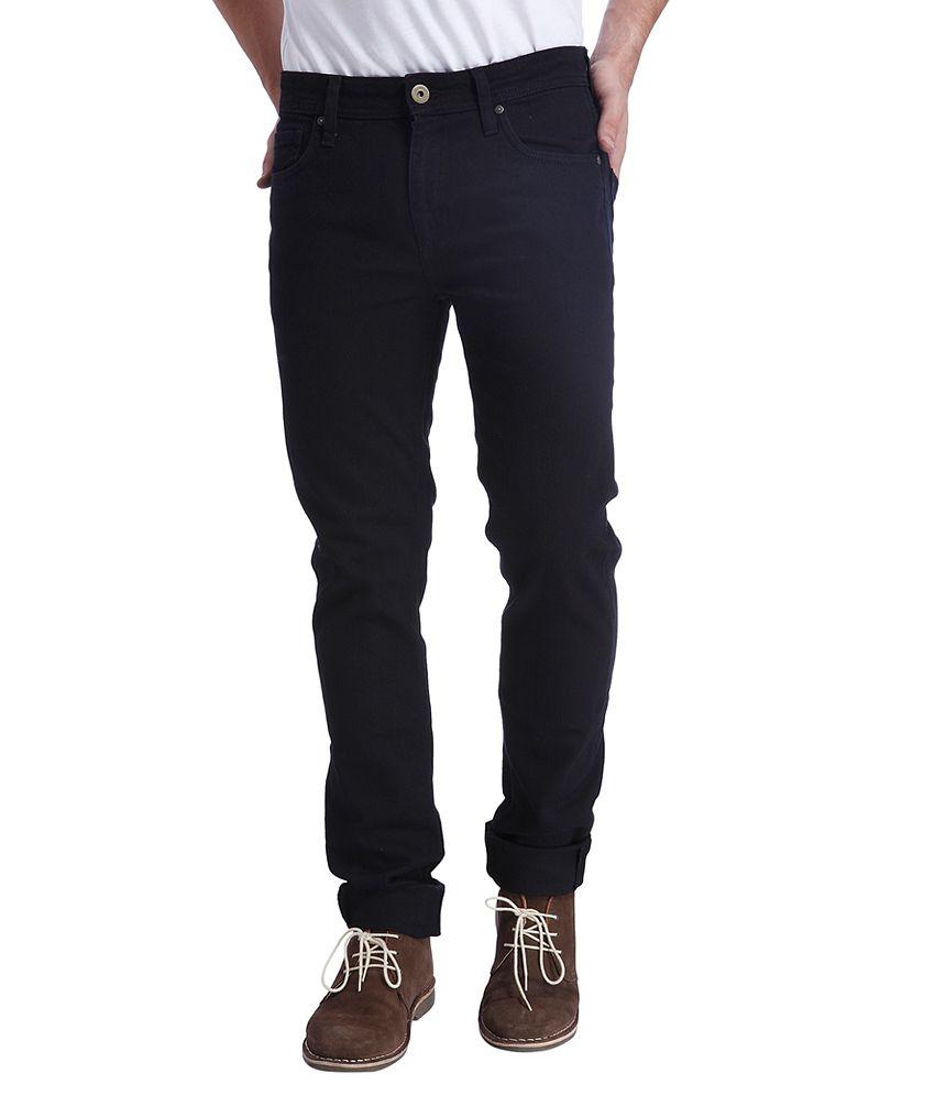 Jack & Jones Black Skinny Fit Jeans