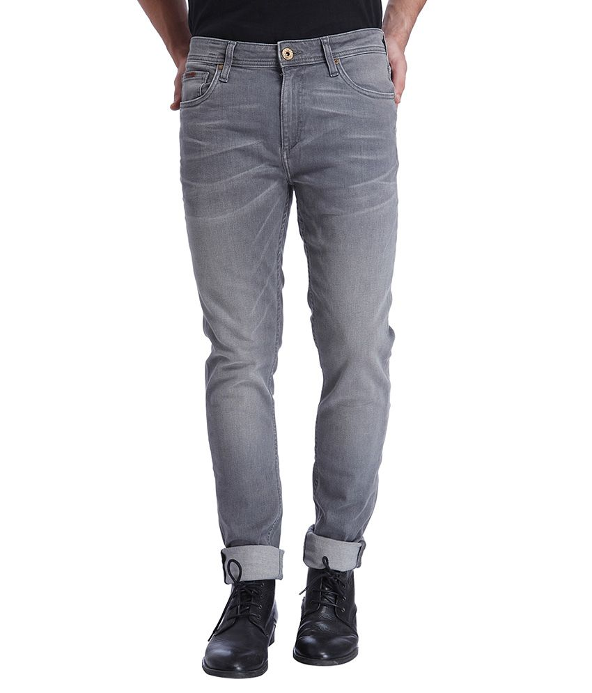 3f80461b3f JACK JONES GREY SKINNY price at Flipkart, Snapdeal, Ebay, Amazon ...