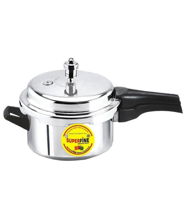 Superfine Aluminium 5 L Pressure Cooker (Outer Lid)