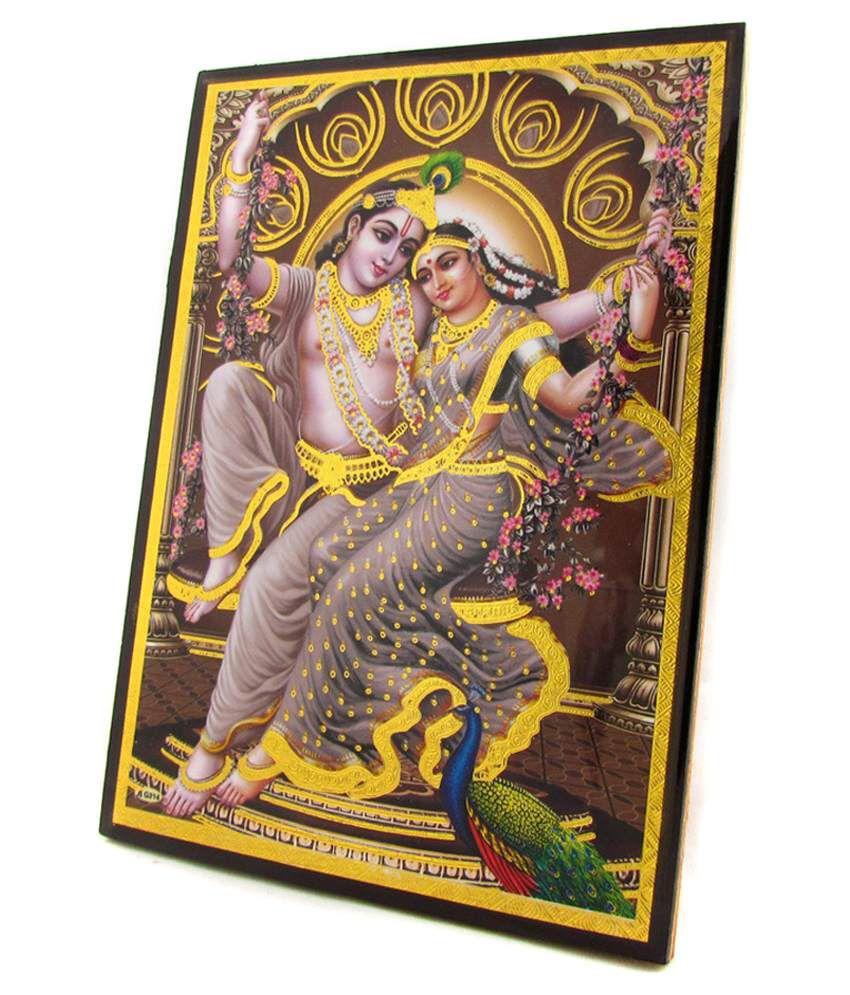 Avercart Lord Krishna/radha Krishna Poster