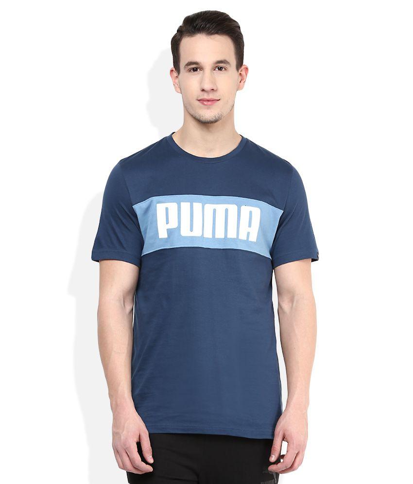 Puma Blue T-Shirt