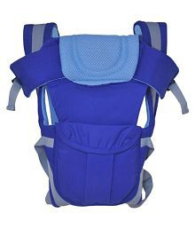 Fantasy India 4 In 1 Foldable Baby Carrier - Blue