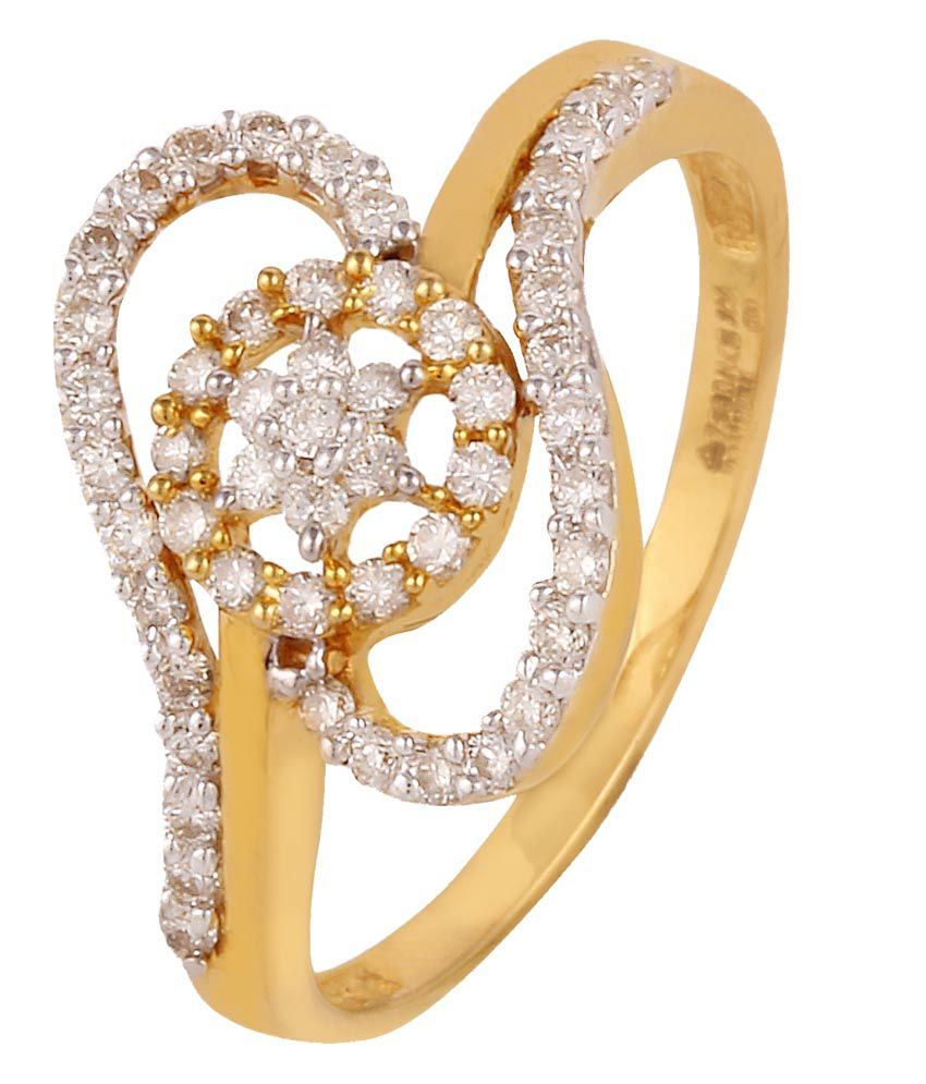 Hg Jewels 18kt Gold and Diamond Ring
