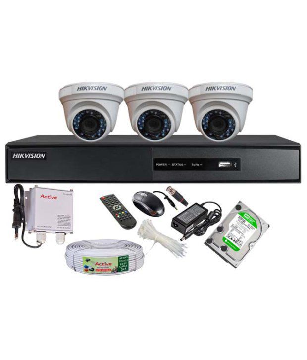 02741b5913e 18% OFF on Hikvision Combo Of Turbo 4ch Dvr
