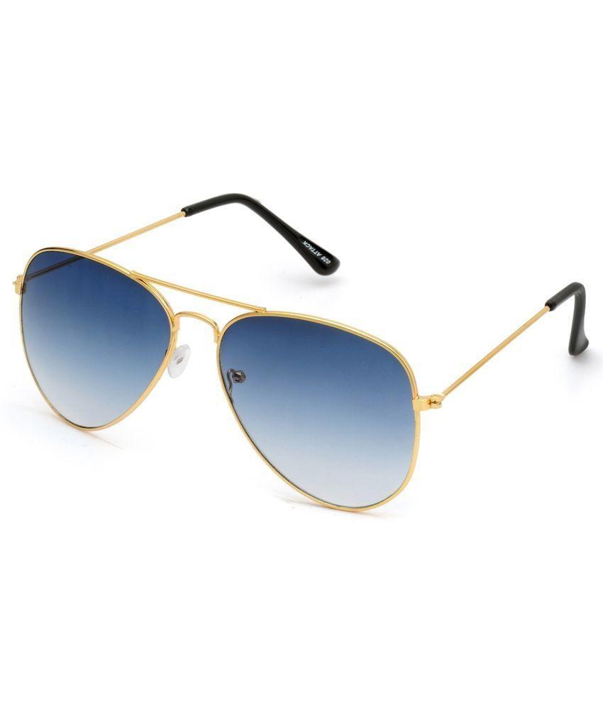 Daller Blue Aviator Sunglasses