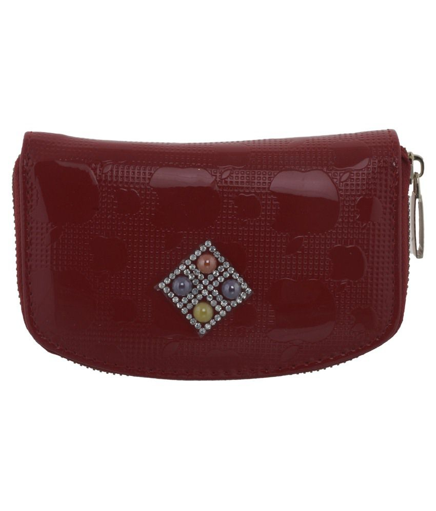 Diamonds World Pink Wallet For Women
