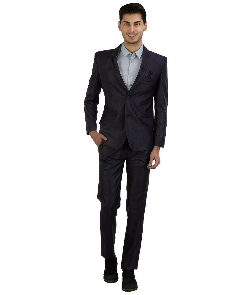 Jogur Navy Blue Formal Suit