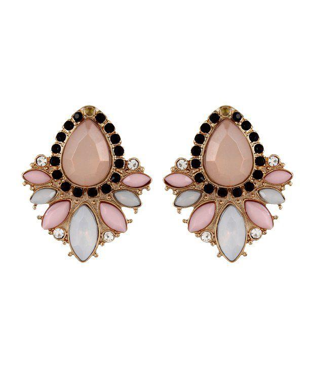 Fayon Style Diva Pink Studs