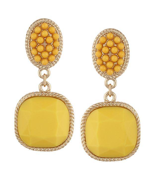 Fayon Yellow Stone Earrings