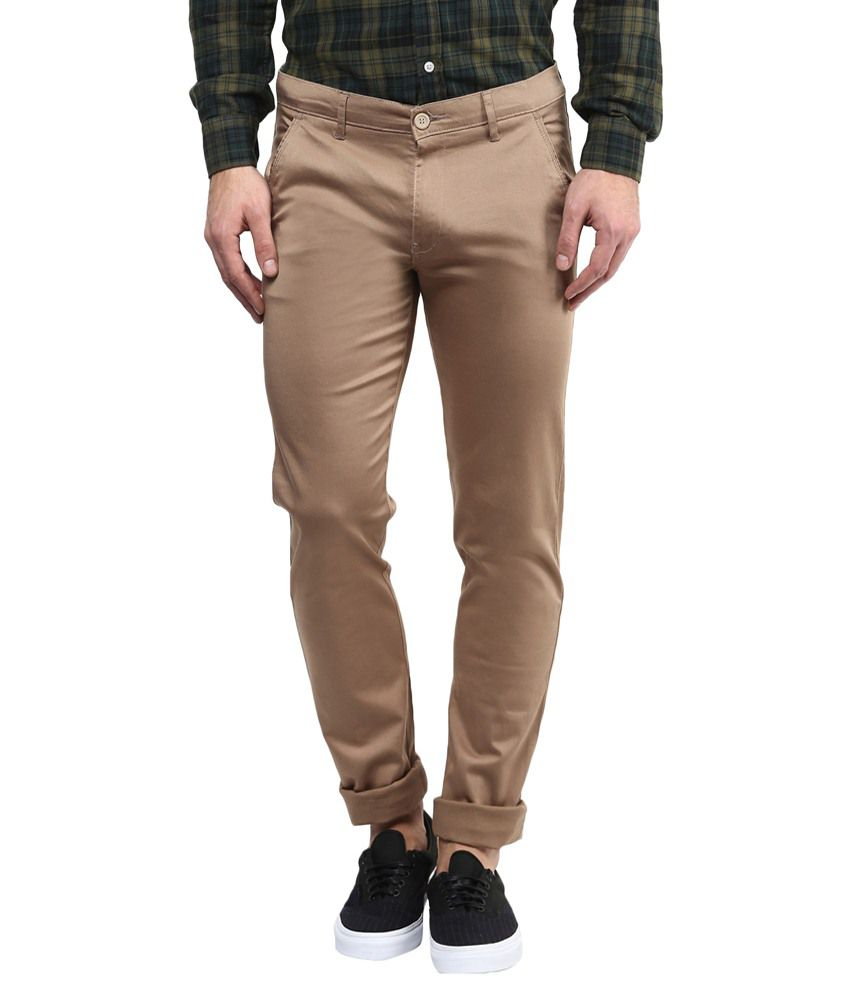 Urban Navy Golden Slim Fit Chino Trouser
