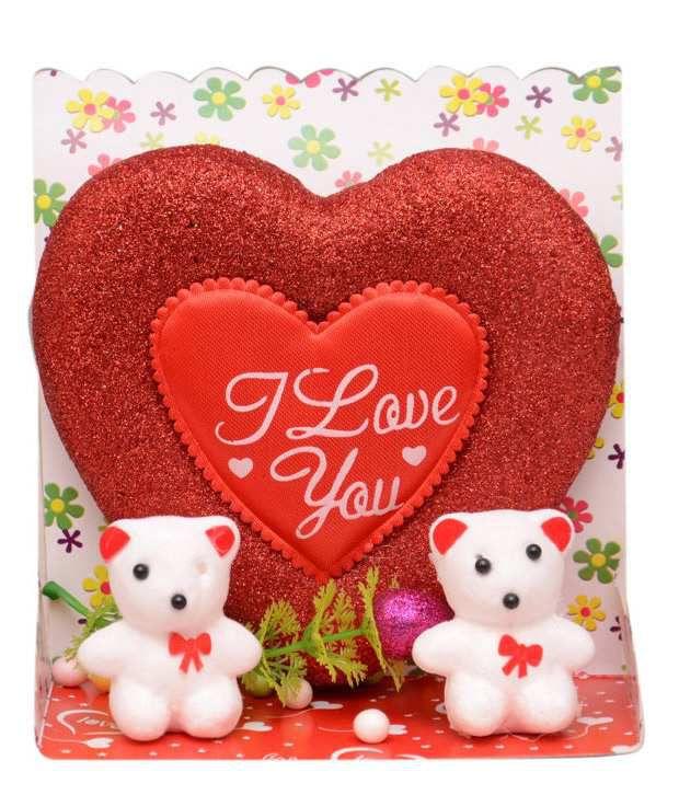 Yashasvi Heart Teady Bear Valentine Gift Set Buy Yashasvi Heart