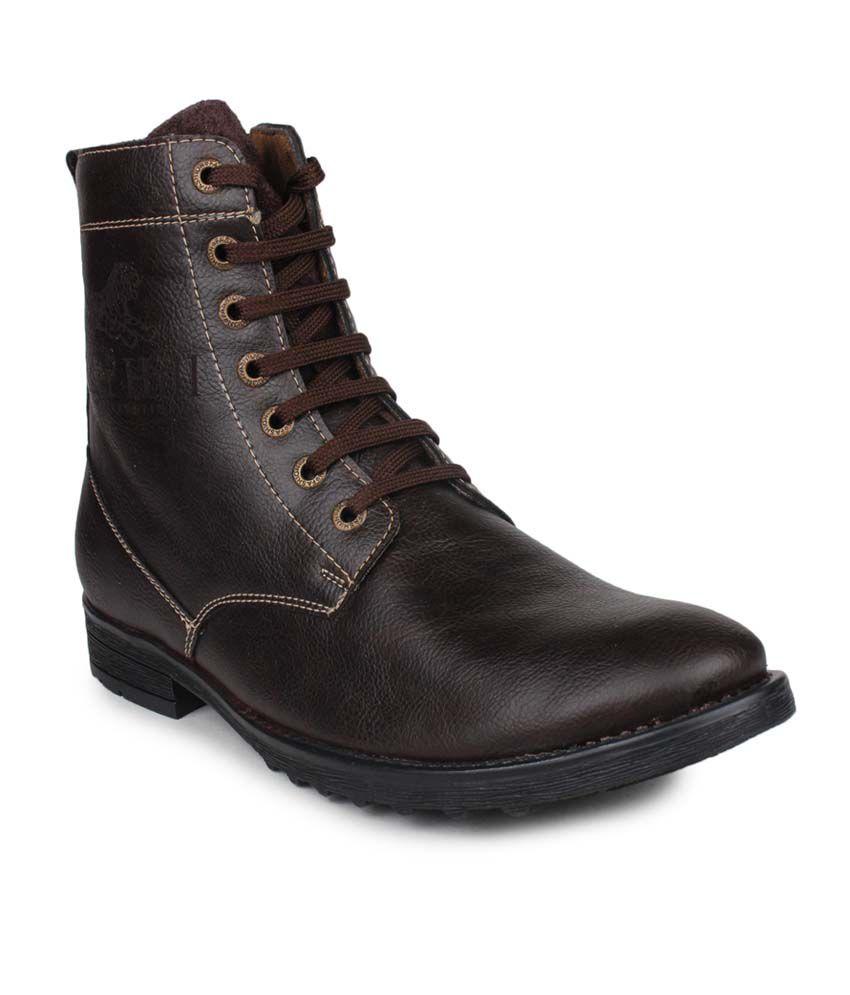 Columbus Brown Boots