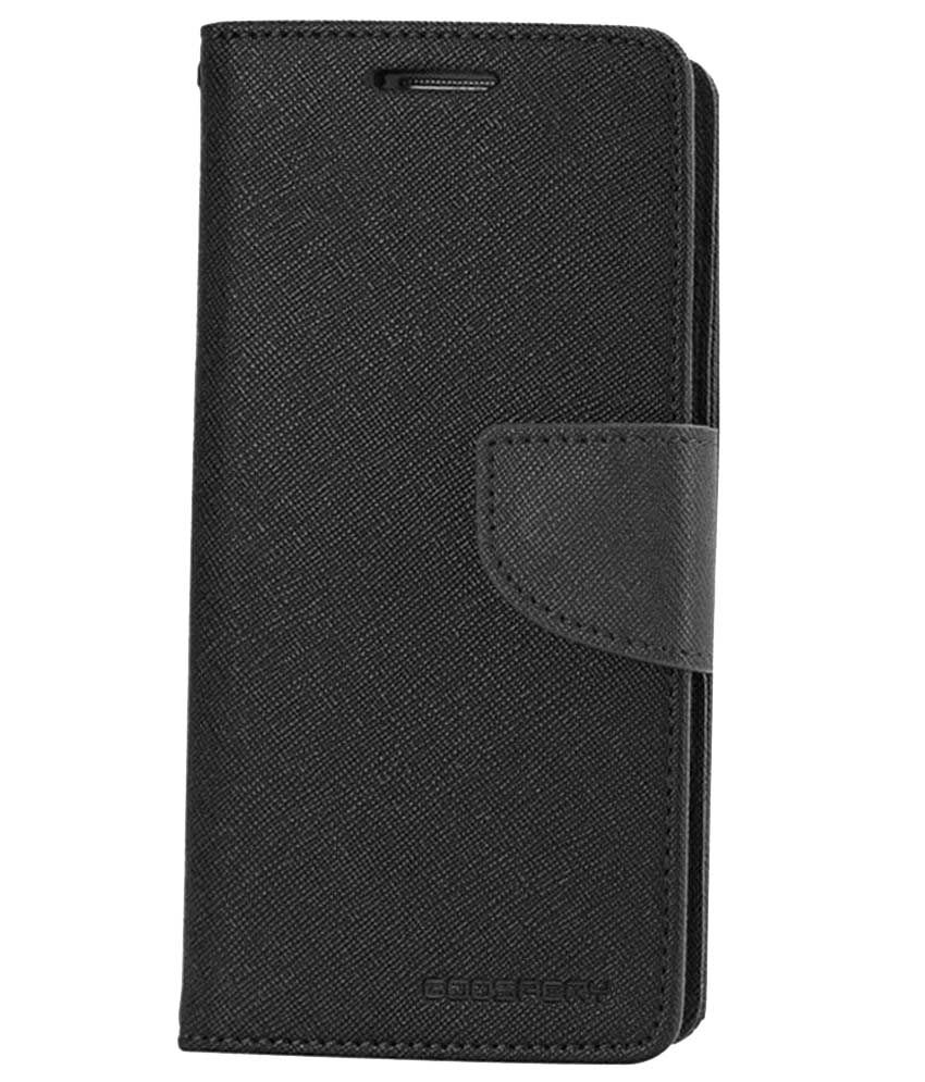 Skyberg Flip Cover For Samsung Galaxy J7 - Brown