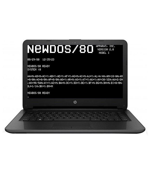 Hp 240 G4 Notebook Core I5 (6th Generation) 4 Gb 500 Gb 35.56cm(14) Dos 1 Gb Black