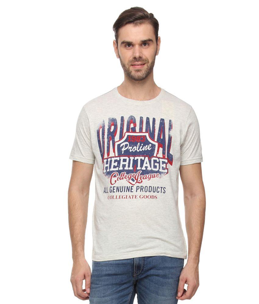Proline Gray T-Shirts