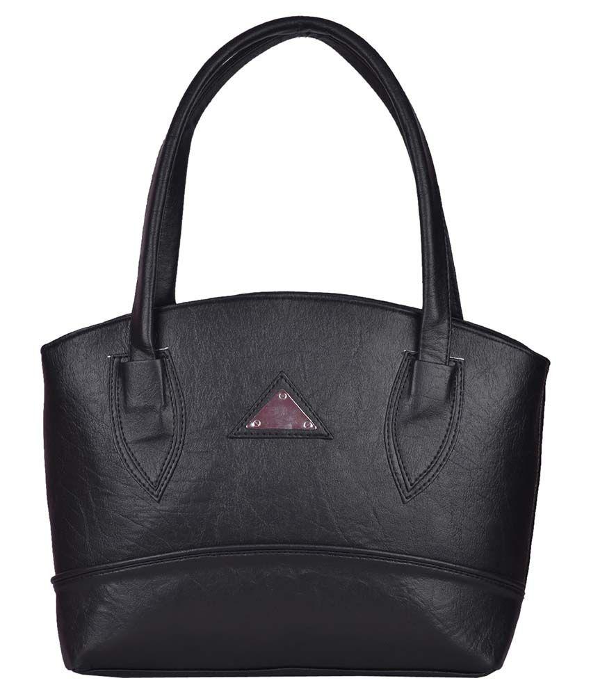 Prettyvogue Black P.u. Shoulder Bag
