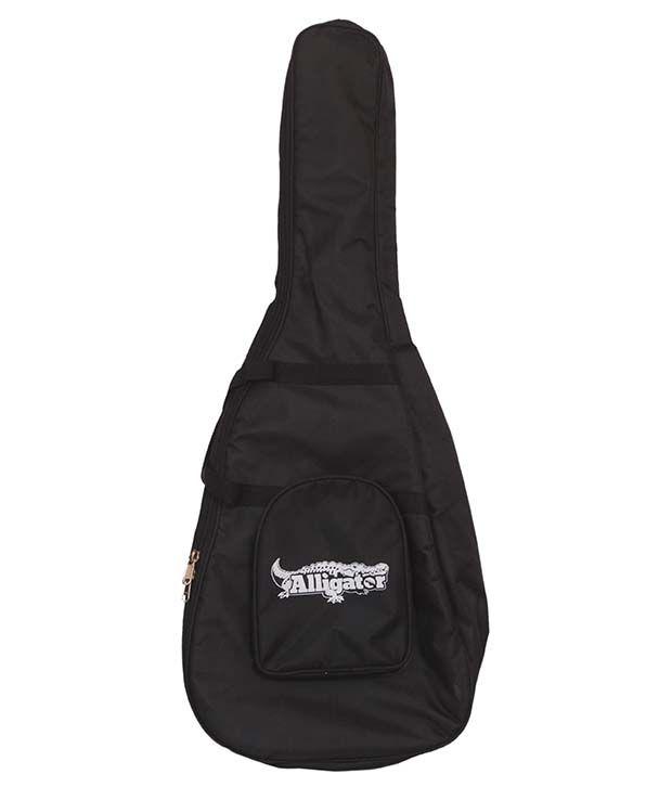 0ed62190b40 Alligator Black Soft Padded Acoustic Guitar Case And Gig Bag: Buy Alligator  Black Soft Padded Acoustic Guitar Case And Gig Bag Online at Best Price in  India ...