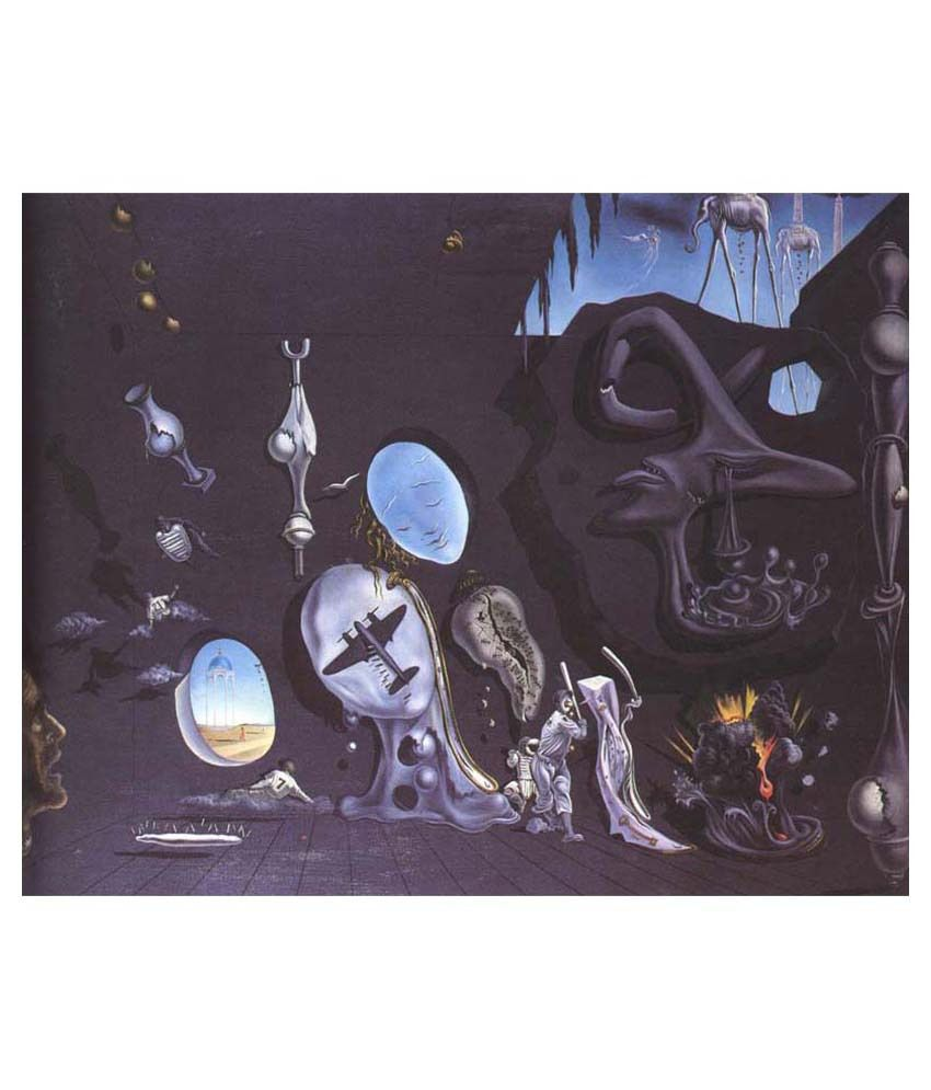 Tallenge Idylle Atomique By Salvador Dali Gallery Wrap Canvas Art Print