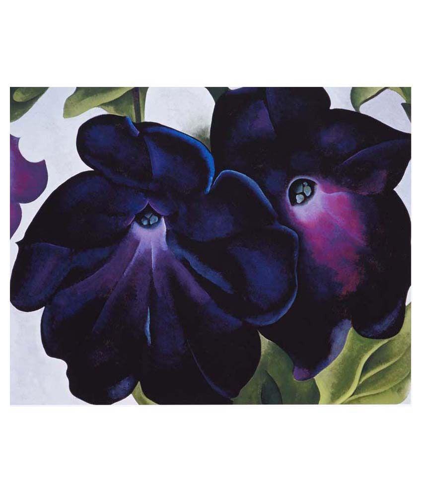 Tallenge Petunias By Georgia O'Keeffe Gallery Wrap Canvas Art Print
