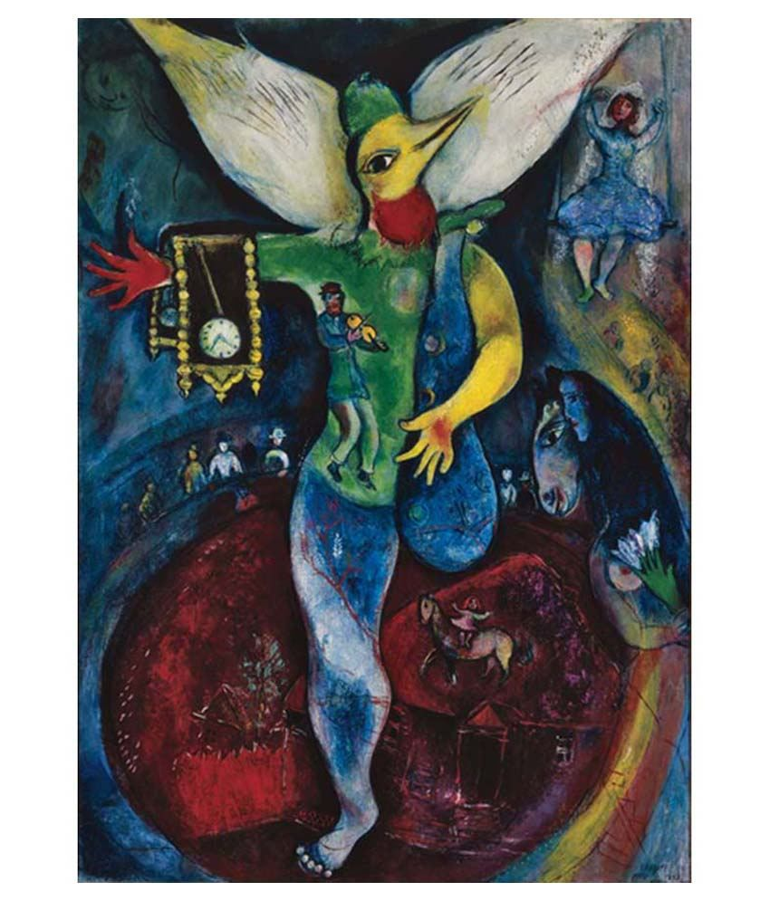 Tallenge The Juggler By Marc Chagall Gallery Wrap Canvas Art Print