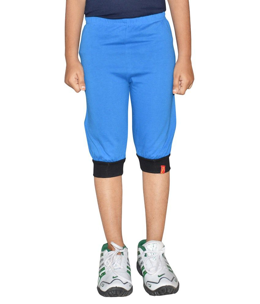 Clever Blue Capri For Girls
