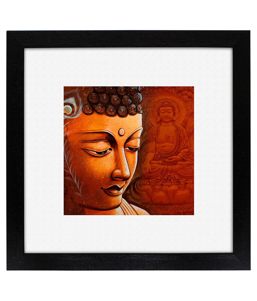 Delight Buddha Face Painting