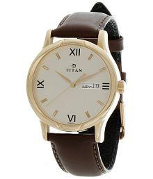 Titan Classic 1580YL05 Men's Watch