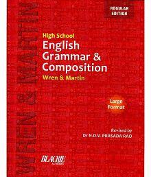 High School English Grammar & Composition Paperback - English