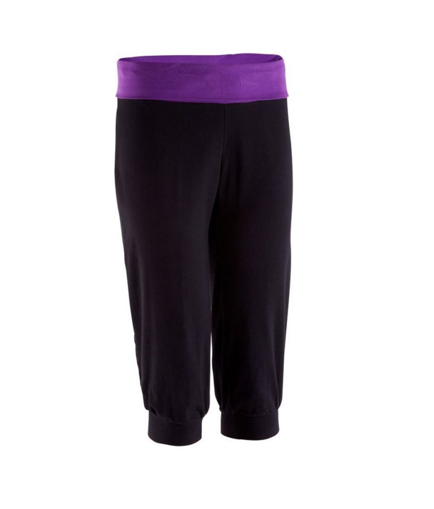 Domyos 3/4 Organic Yoga Cropped Leggings