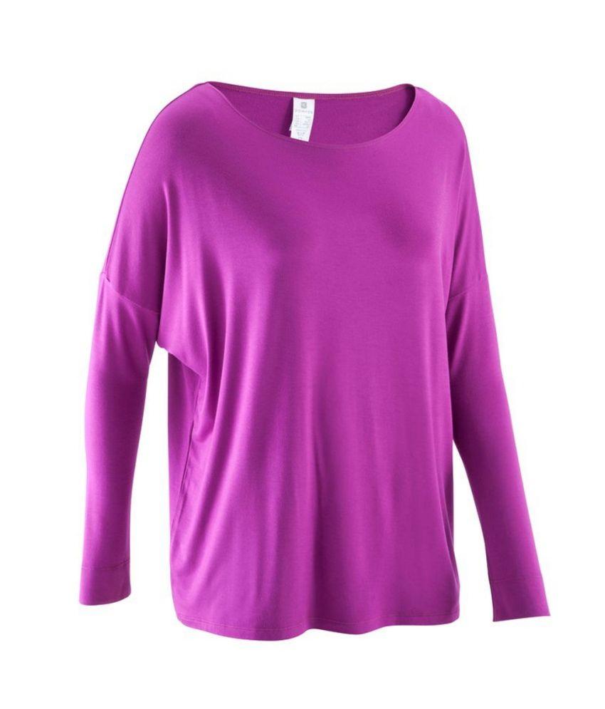 Domyos Dance Long-sleeve Teen T-Shirt