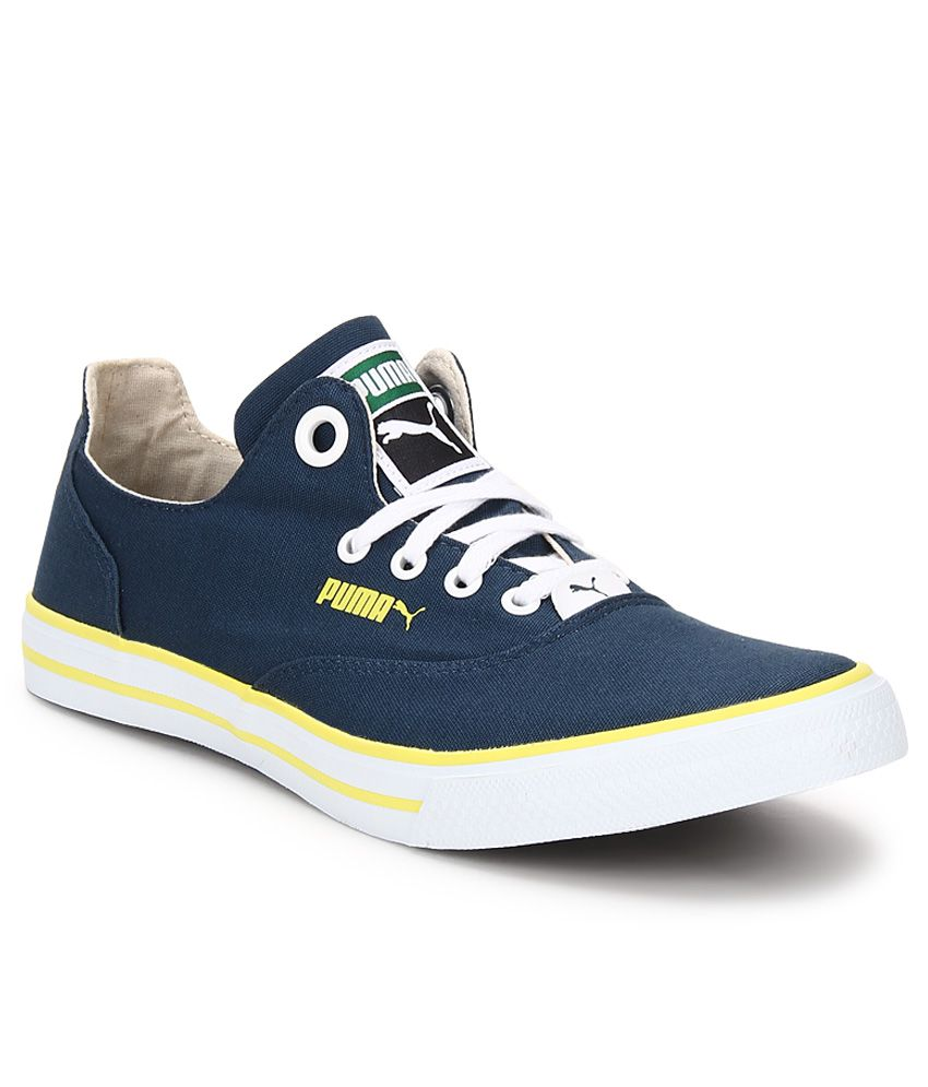 d7ce1a5c9db9f8 Puma Limnos Cat 3 Blue Casual Shoes Price in India- Buy Puma Limnos Cat 3  Blue Casual Shoes Online at Snapdeal