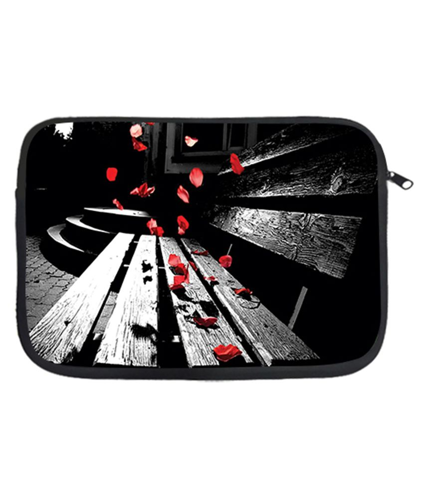 Via Flowers Petals Laptop Sleeve - Multicolour