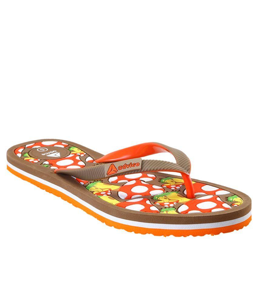 Advice Khaki Slippers & Flip Flops
