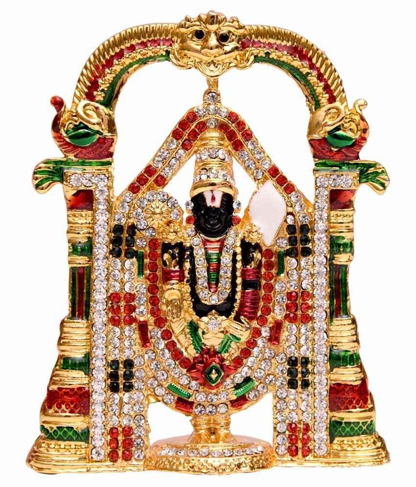 Oyedeal Lord Tirupati Balaji Venkateshwara Car Dashboard Idol Buy
