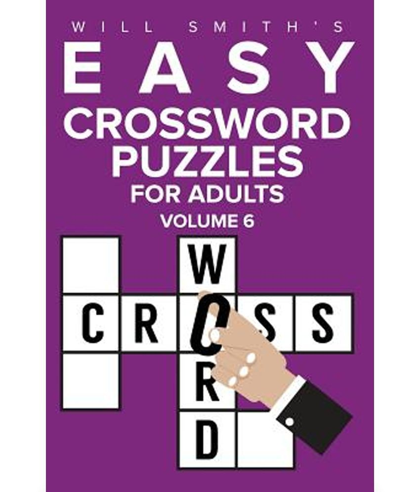 Will Smith Easy Crossword Puzzles for Adults - Volume 6
