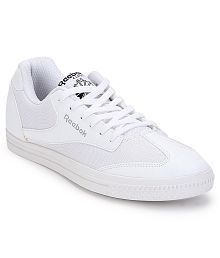 Reebok Class Buddy White Canvas Casual Shoes