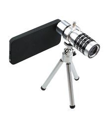 Smiledrive 12x Optical Zoom Telescope Mobile Camera Lens Kit With Back Cover & Tripod For Samsung Galaxy S5