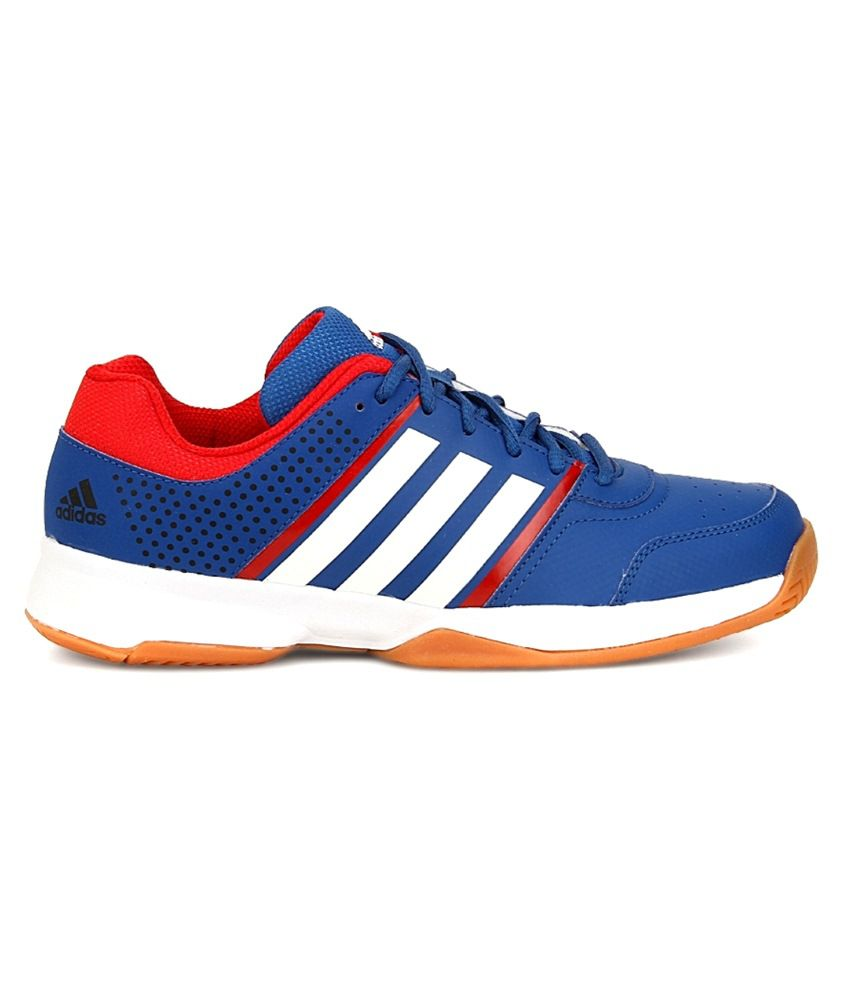 ff9b2ce9744744 Adidas Blue Badminton Shoes - Buy Adidas Blue Badminton Shoes Online ...