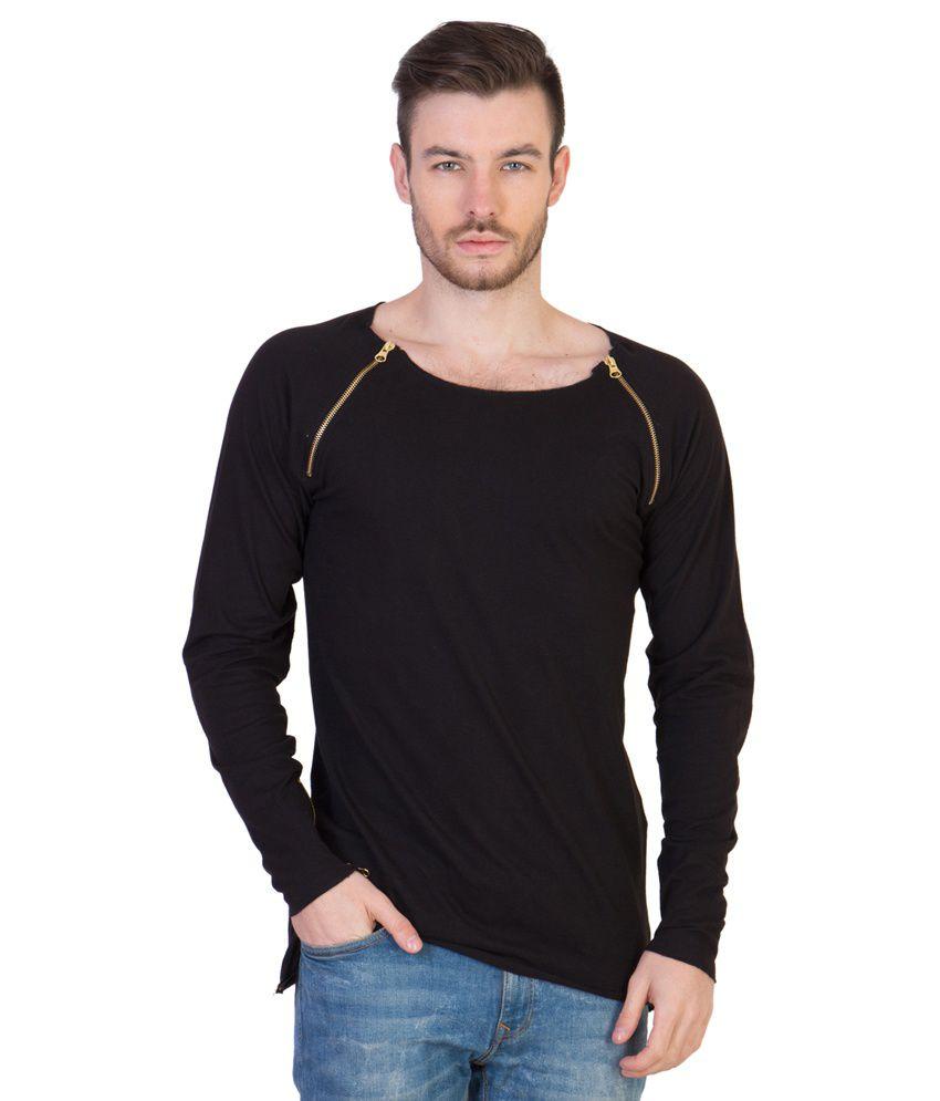 Acomharc Inc Black Cotton T-Shirt