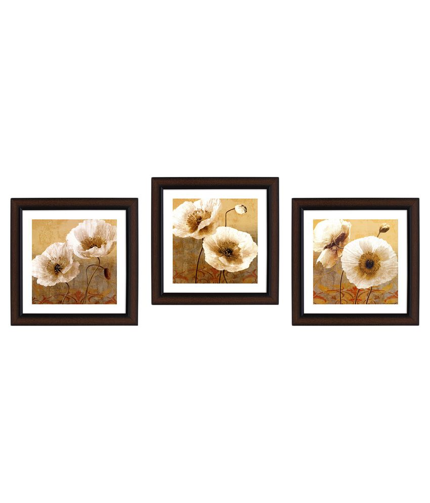 Delight Designer Wall Painting - Pack of 3