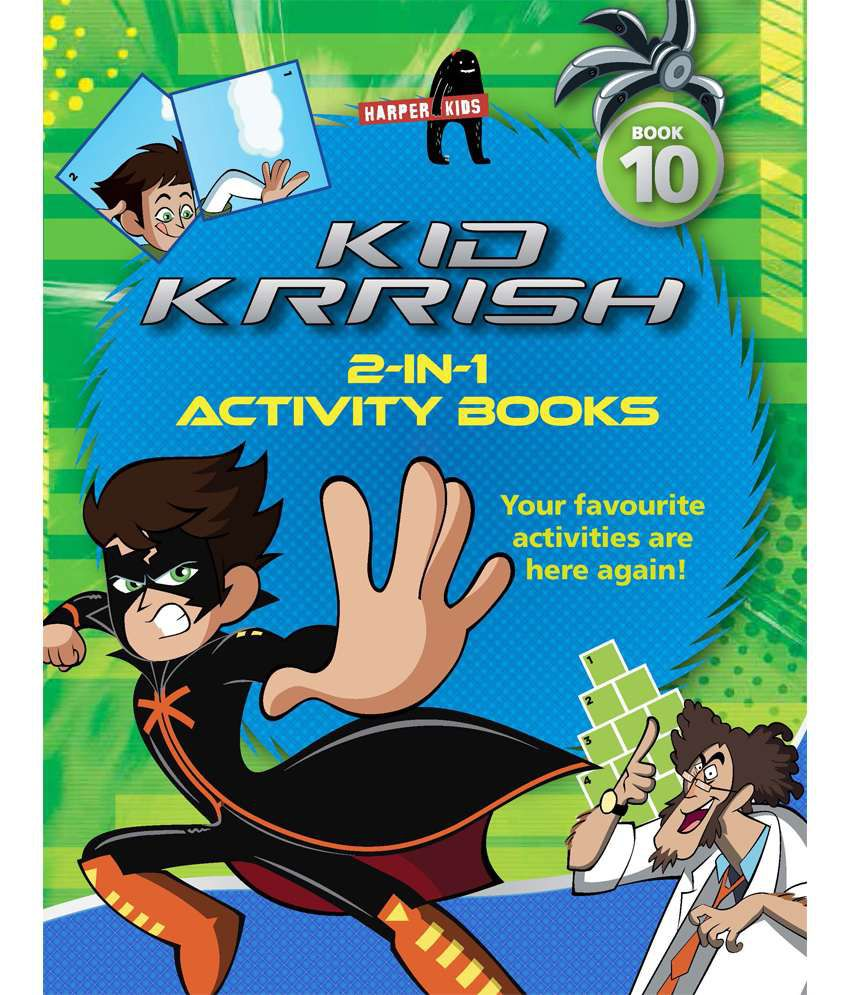 Kid Krrish Activity Book 10 Paperback