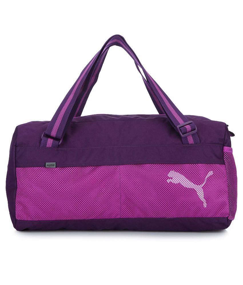 Puma Fundamental Puple Duffle Bag - Buy Puma Fundamental Puple Duffle Bag  Online at Low Price - Snapdeal 183cc5ccbaeaa